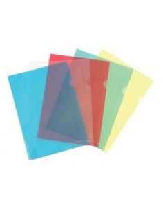 Папка-уголок, А4, пластиковая