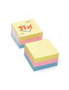 Блок бумаги для заметок TIX, 51x51, AERO, 250л в блоке