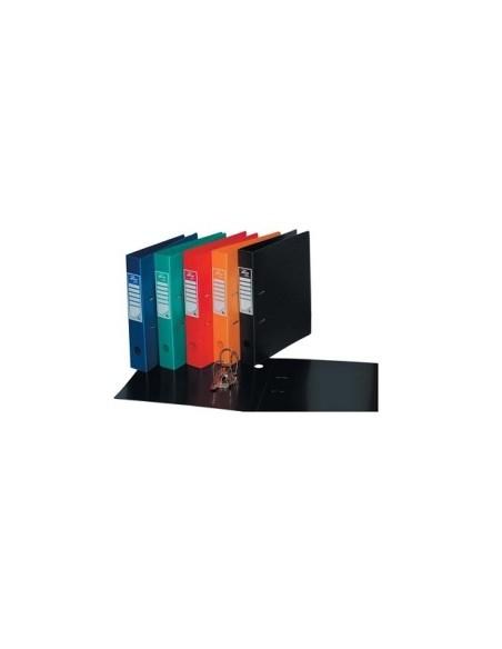 РЕГИСТР Папка регистратор А4, 50мм., твердый пластик ассорти, арт. 50F20-AssV