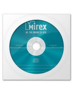 Диск CD-RW Mirex STANDARD 700 Мб 4-12х в бумажном конверте с окном