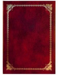Папка ХУДОЖЕСТВЕННАЯ РАМКА №3 (узкая), бумвинил, ф. А4, арт. АПБ4-003