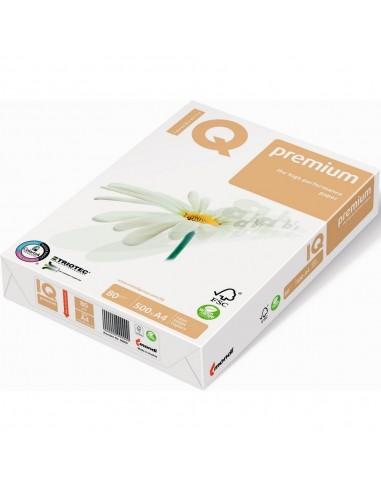 Бумага IQ Premium А4, 80 г/м2, 500л