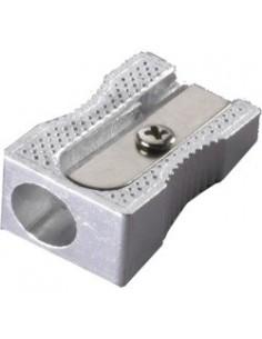 LACO Точилка для карандашей SP911, металл, клиновидная форма, одно отверстие