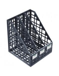 СТАММ Лоток сборный вертикальный 3 отделения черный, арт. ЛТ81
