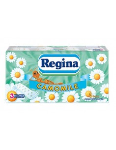 Regina туалетная бумага 3-хслойная, 8шт
