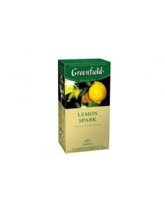 Чай Greenfield Lemon Spark черный с ароматом лимона
