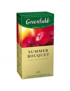 Чай Greenfield Summer Bouquet со вкусом и ароматом малины