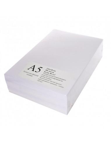 Бумага формата А5, 80 гр/м2, 500 листов  в пачке