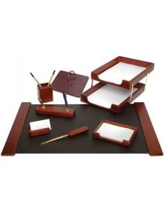 FORPUS Набор настольный, деревянный, 7 предметов