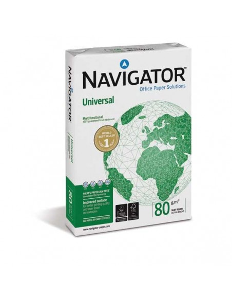 БУМАГА А4 NAVIGATOR UNIVERSAL 80ГР. 500Л.