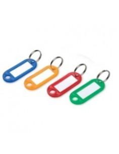 Брелки для ключей, 12шт/уп., цветные