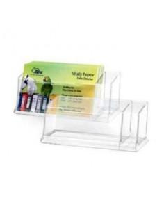 Подставка для визиток Forpus, 120×45×43 мм, прозрачная