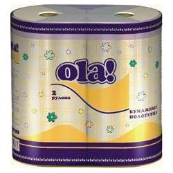 Полотенца бумажные SOFT (2рул./.уп.)