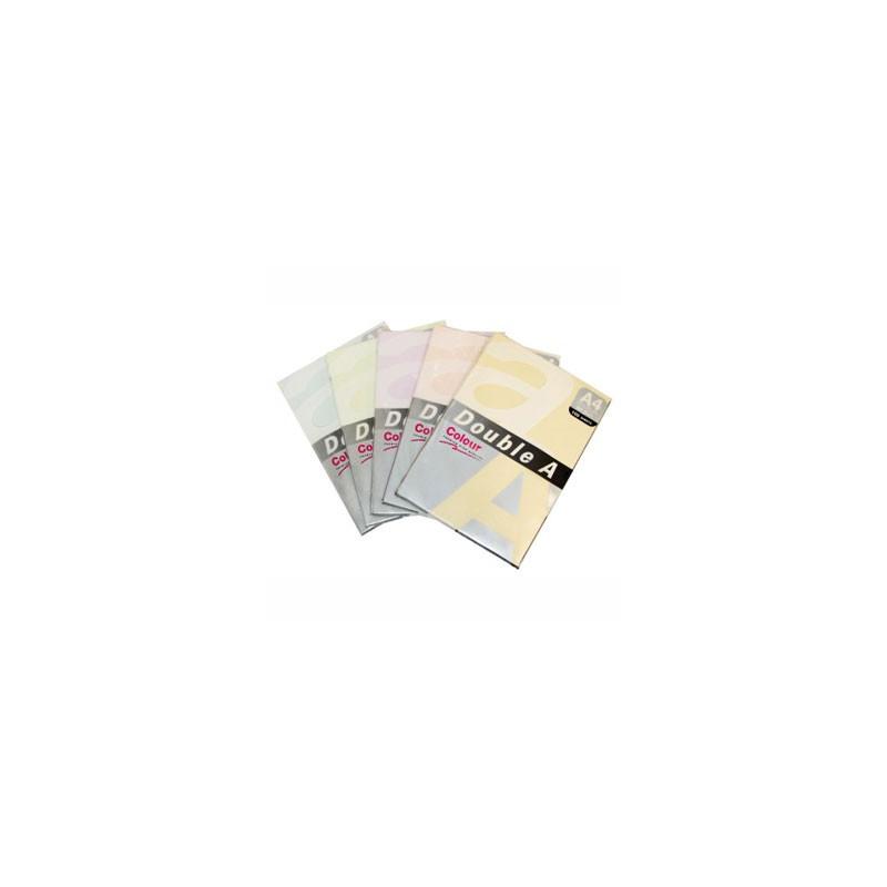 Цветная бумага DOUBLE A Pastel 500