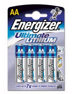 Батарейки Energizer Ultimate LITHIUM АА