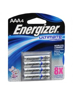 Батарейки Energizer Ultimate LITHIUM ААА