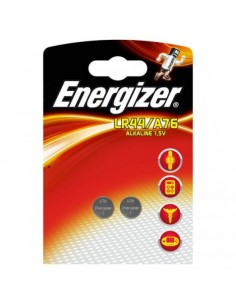 Батарейка алкалиновая дисковая 1.5 V LR44/A76/357 Energizer