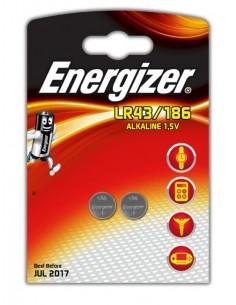 Батарейка алкалиновая дисковая 1.5 V LR43 Energizer