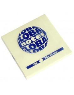 Бумага для заметок GLOBAL NOTES 75 х 75 мм 100л