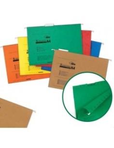 Папка подвесная для картотеки А4 зеленая