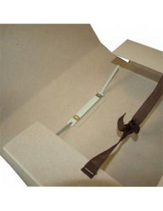 Папка скоросшиватель с завязками