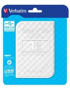 """Внешний жесткий диск 2.5"""" 1TB Store 'n' Go GEN2 Verbatim серебристый"""