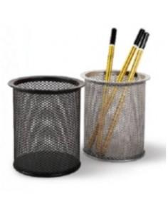 Стаканчик для пишущих принадлежностей металл серебро, арт. FO30551