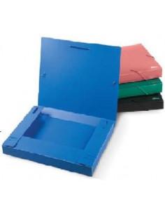 FORPUS Папка-бокс для бумаг на резинках, А4, 30мм.