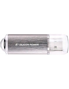 Флэшка USB SP064GBUF2M01V1S 64GB, USB2.0 UltimaII I-series, Silver