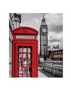 """Тетрадь А4 """"London"""", спираль сбоку"""