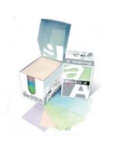DOUBLE A Бумага для записей MINI BOX, цветная, 60x83мм, 650л.