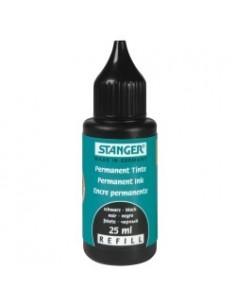 STANGER Чернила (краска заправка) для перманентного маркера 25мл черные