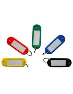Брелок для ключей с вкладышем для записи данных