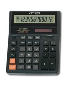 CITIZEN Калькулятор 12р. бухгалтерский SDC 888