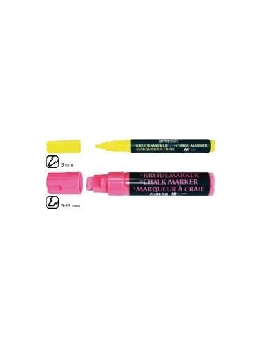 Набор 4-х жидких маркеров для черной доски, 3мм., STANGER арт. 620030