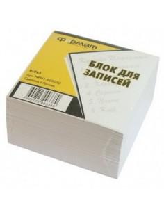 Бумага для заметок, белая, 85х85мм, 500 листов