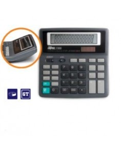 Калькулятор настольный, 14-р., 2-е питание, арт. FO11002