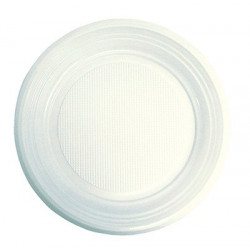 Тарелка одноразовая, пластмассовая