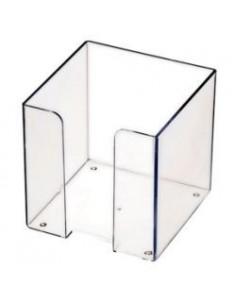 СТАММ Пластбокс прозрачный для бумажного блока 9*9*9, арт. ПЛ41