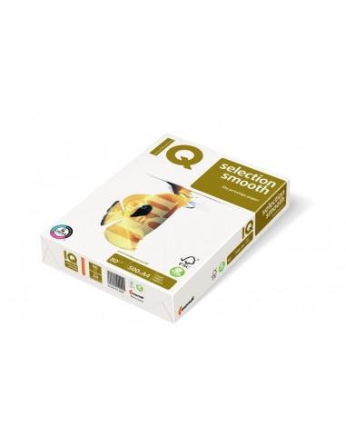 Бумага IQ Selection smooth А4, 80 г/м2, 500л
