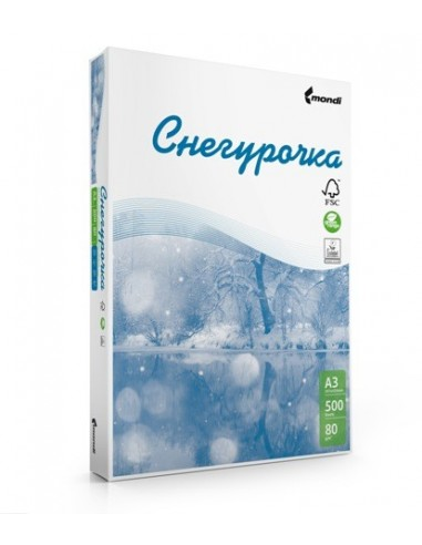 Бумага Снегурочка 80 г/м2, 500л, А4