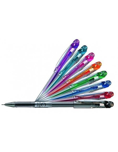 Гелевые ручки, роллеры, пигментные и капиллярные